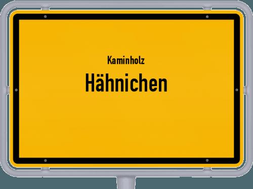 Kaminholz & Brennholz-Angebote in Hähnichen, Großes Bild