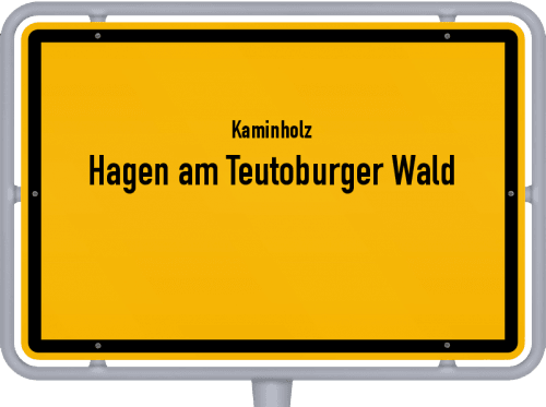 Kaminholz & Brennholz-Angebote in Hagen am Teutoburger Wald, Großes Bild