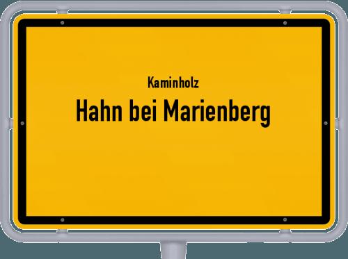 Kaminholz & Brennholz-Angebote in Hahn bei Marienberg, Großes Bild