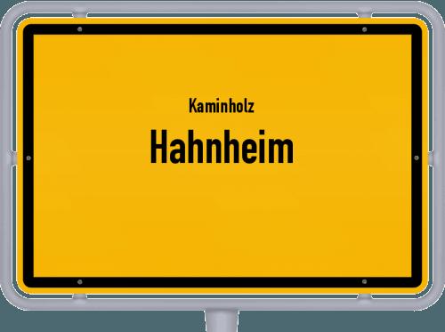 Kaminholz & Brennholz-Angebote in Hahnheim, Großes Bild