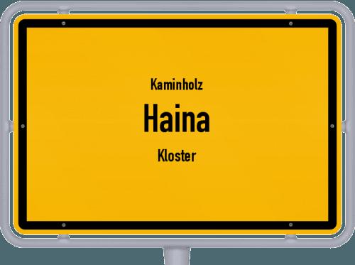 Kaminholz & Brennholz-Angebote in Haina (Kloster), Großes Bild