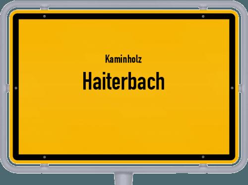Kaminholz & Brennholz-Angebote in Haiterbach, Großes Bild