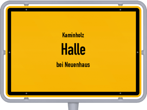 Kaminholz & Brennholz-Angebote in Halle (bei Neuenhaus), Großes Bild