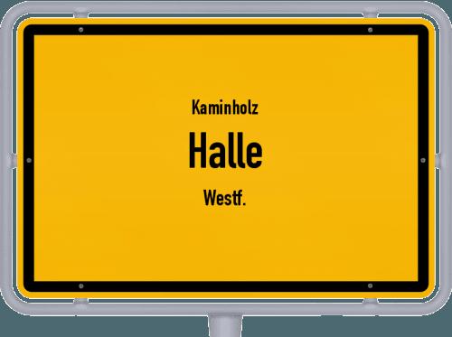 Kaminholz & Brennholz-Angebote in Halle (Westf.), Großes Bild