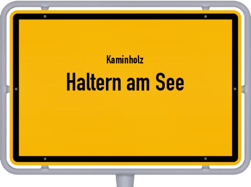 Kaminholz & Brennholz-Angebote in Haltern am See, Großes Bild