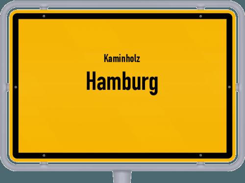 Kaminholz & Brennholz-Angebote in Hamburg, Großes Bild