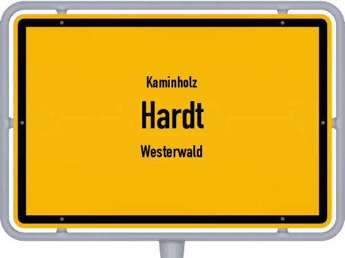 Kaminholz & Brennholz-Angebote in Hardt (Westerwald), Großes Bild
