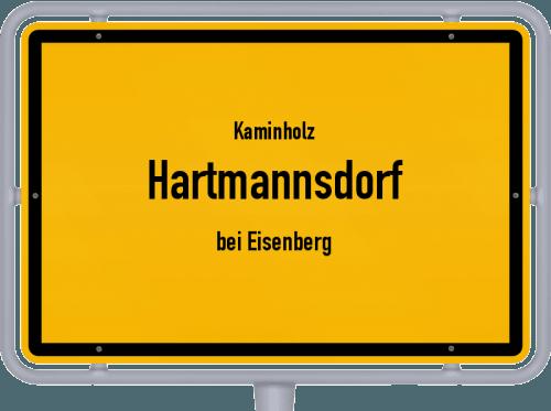 Kaminholz & Brennholz-Angebote in Hartmannsdorf (bei Eisenberg), Großes Bild