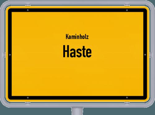 Kaminholz & Brennholz-Angebote in Haste, Großes Bild