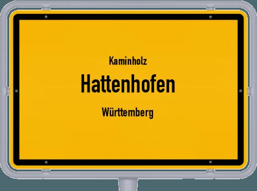 Kaminholz & Brennholz-Angebote in Hattenhofen (Württemberg), Großes Bild
