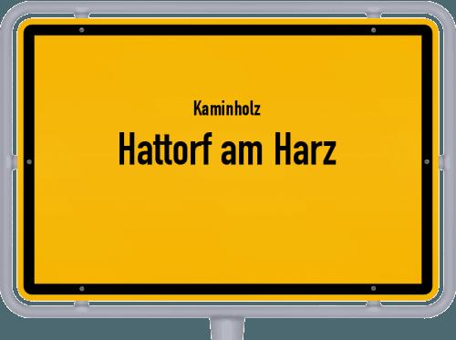 Kaminholz & Brennholz-Angebote in Hattorf am Harz, Großes Bild