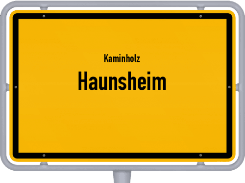 Kaminholz & Brennholz-Angebote in Haunsheim, Großes Bild