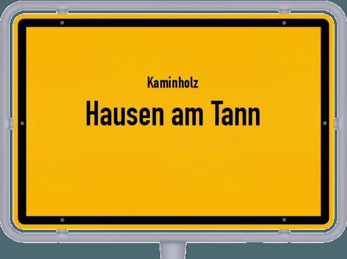 Kaminholz & Brennholz-Angebote in Hausen am Tann, Großes Bild