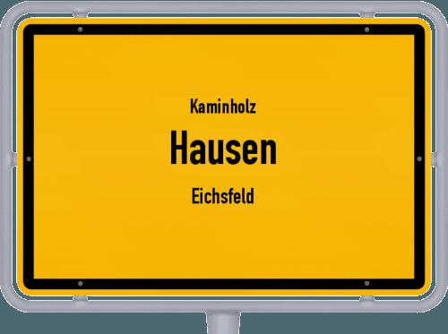 Kaminholz & Brennholz-Angebote in Hausen (Eichsfeld), Großes Bild