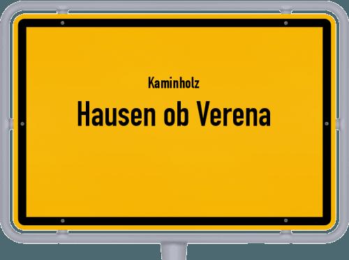Kaminholz & Brennholz-Angebote in Hausen ob Verena, Großes Bild