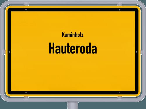 Kaminholz & Brennholz-Angebote in Hauteroda, Großes Bild