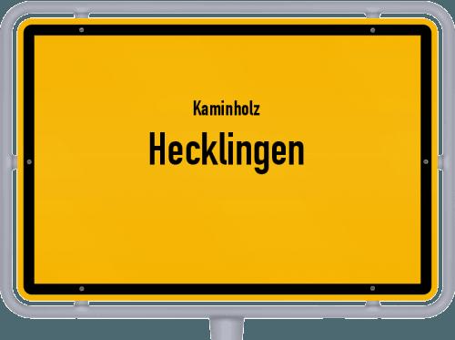 Kaminholz & Brennholz-Angebote in Hecklingen, Großes Bild