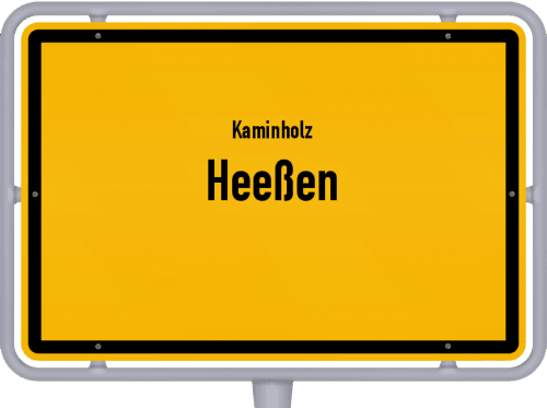 Kaminholz & Brennholz-Angebote in Heeßen, Großes Bild
