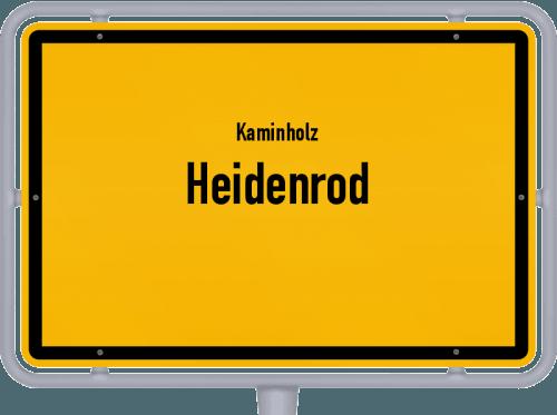 Kaminholz & Brennholz-Angebote in Heidenrod, Großes Bild