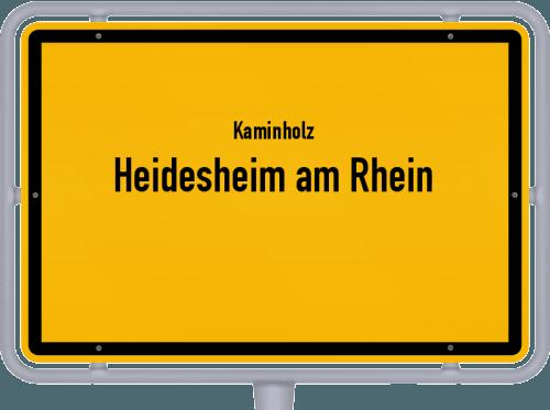Kaminholz & Brennholz-Angebote in Heidesheim am Rhein, Großes Bild