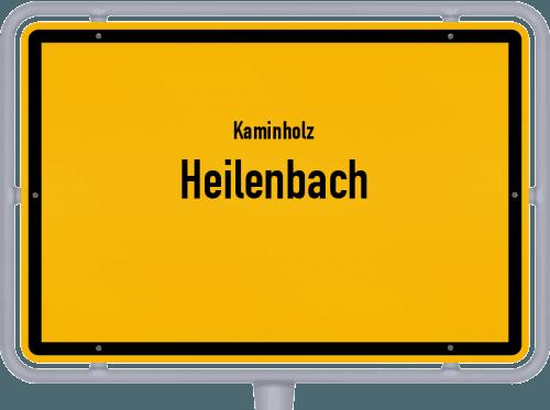 Kaminholz & Brennholz-Angebote in Heilenbach, Großes Bild