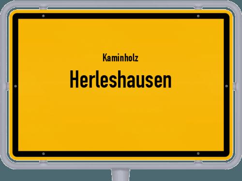 Kaminholz & Brennholz-Angebote in Herleshausen, Großes Bild