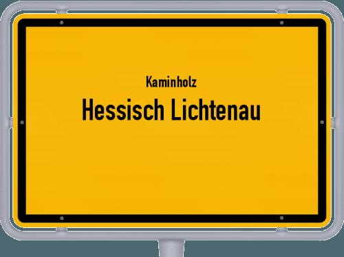 Kaminholz & Brennholz-Angebote in Hessisch Lichtenau, Großes Bild