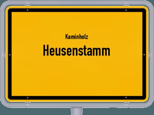 Kaminholz & Brennholz-Angebote in Heusenstamm, Großes Bild