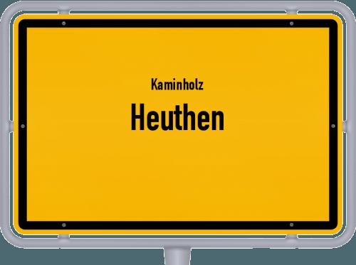 Kaminholz & Brennholz-Angebote in Heuthen, Großes Bild