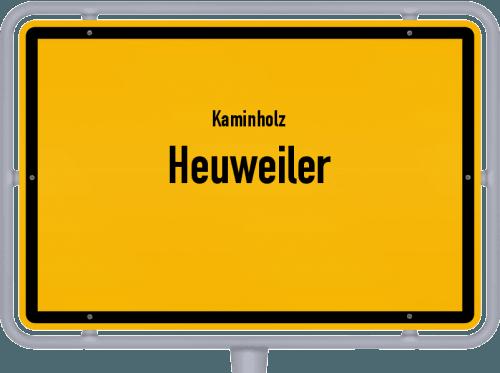 Kaminholz & Brennholz-Angebote in Heuweiler, Großes Bild