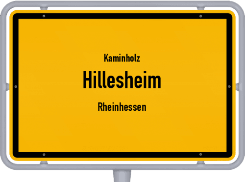Kaminholz & Brennholz-Angebote in Hillesheim (Rheinhessen), Großes Bild