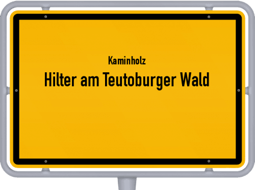 Kaminholz & Brennholz-Angebote in Hilter am Teutoburger Wald, Großes Bild