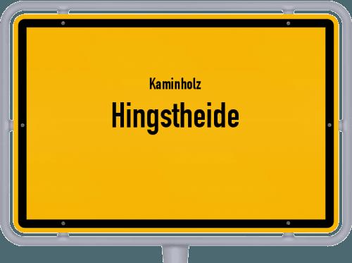 Kaminholz & Brennholz-Angebote in Hingstheide, Großes Bild
