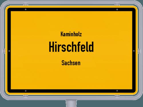 Kaminholz & Brennholz-Angebote in Hirschfeld (Sachsen), Großes Bild