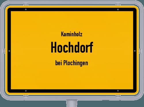 Kaminholz & Brennholz-Angebote in Hochdorf (bei Plochingen), Großes Bild