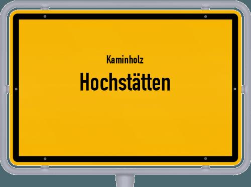 Kaminholz & Brennholz-Angebote in Hochstätten, Großes Bild