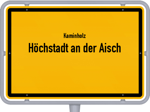 Kaminholz & Brennholz-Angebote in Höchstadt an der Aisch, Großes Bild