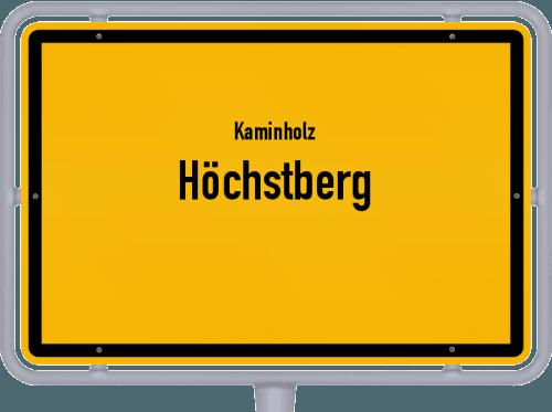 Kaminholz & Brennholz-Angebote in Höchstberg, Großes Bild