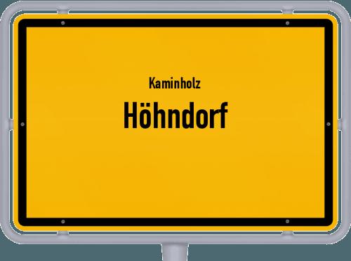 Kaminholz & Brennholz-Angebote in Höhndorf, Großes Bild