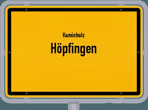 Kaminholz & Brennholz-Angebote in Höpfingen, Großes Bild