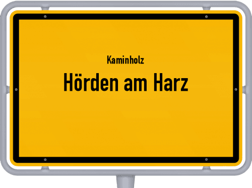 Kaminholz & Brennholz-Angebote in Hörden am Harz, Großes Bild