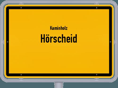 Kaminholz & Brennholz-Angebote in Hörscheid, Großes Bild
