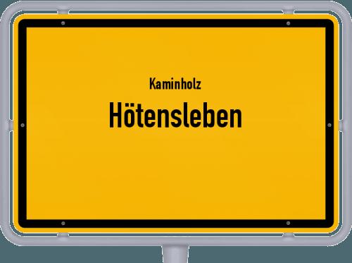 Kaminholz & Brennholz-Angebote in Hötensleben, Großes Bild