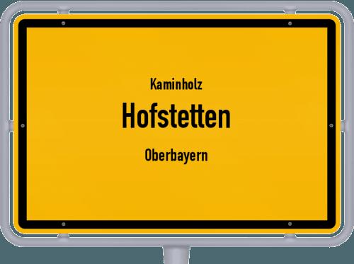 Kaminholz & Brennholz-Angebote in Hofstetten (Oberbayern), Großes Bild