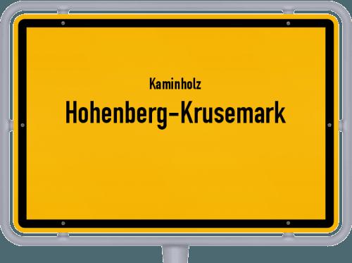Kaminholz & Brennholz-Angebote in Hohenberg-Krusemark, Großes Bild