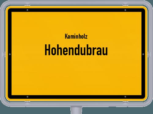 Kaminholz & Brennholz-Angebote in Hohendubrau, Großes Bild