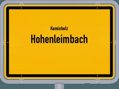 Kaminholz & Brennholz-Angebote in Hohenleimbach, Großes Bild