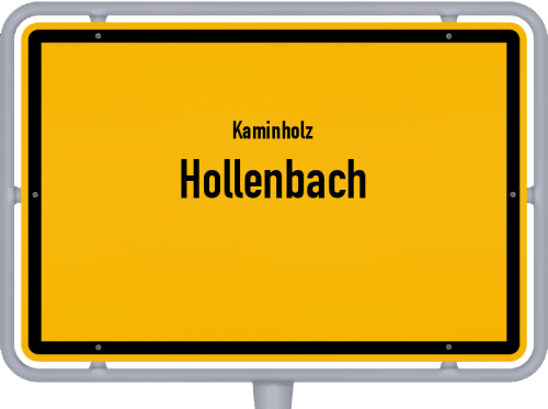 Kaminholz & Brennholz-Angebote in Hollenbach, Großes Bild