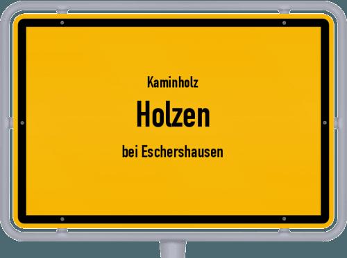 Kaminholz & Brennholz-Angebote in Holzen (bei Eschershausen), Großes Bild