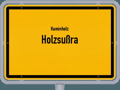 Kaminholz & Brennholz-Angebote in Holzsußra, Großes Bild